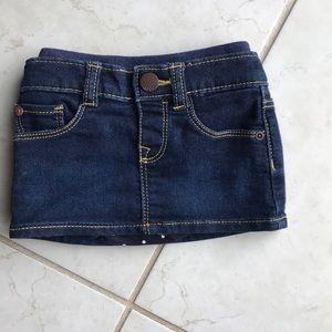 3-6 mth GAP jean skirt